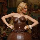 这是巧克力做的